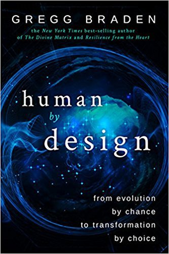 Gregg Braden's book cover for human by design